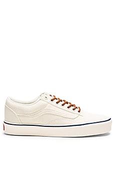 Vans + Old Skool Lite in Classic White