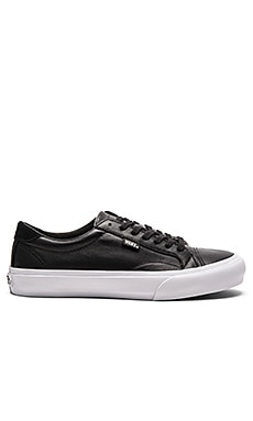 Vans + Court Leather in Black