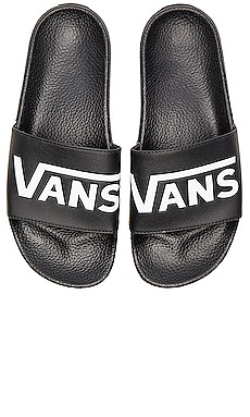 Vans Slide On in Black