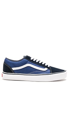 Vans + Old Skool Lite in Navy & White