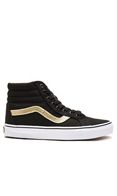 Vans SK8-Hi Reissue 50th in Black & Gold