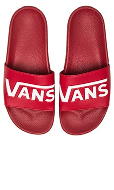 Vans Slide On in Chili Pepper