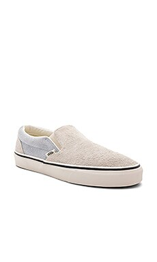 Classic Slip-On Fuzzy Suede