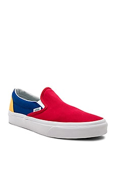 Vans Yacht Club Classic Slip-On in Red