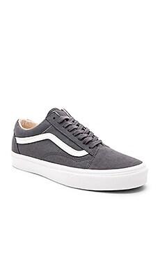 Фото - Обувь old skool - Vans серого цвета