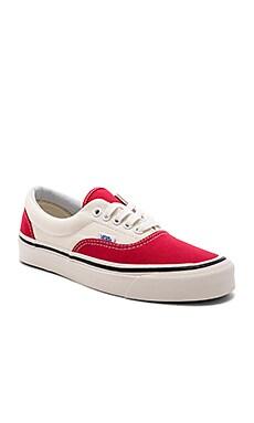 Купить Обувь era 95 dx - Vans красного цвета