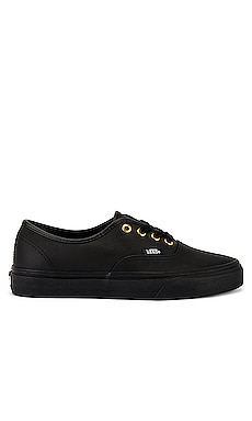 Authentic Leather Vans $60
