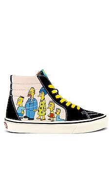x The Simpsons Sk8-Hi Sneaker Vans $75