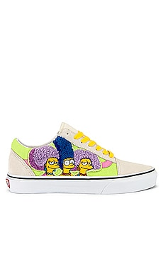 x The Simpsons Old Skool Sneaker Vans $75