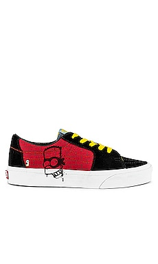x The SImpsons Sk8-Low Sneaker Vans $70 NEW