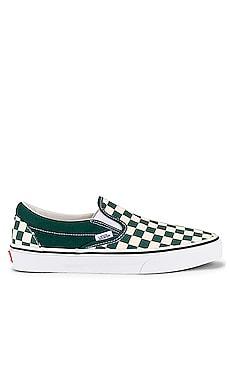 Classic Slip On in Bistro Green Vans $50