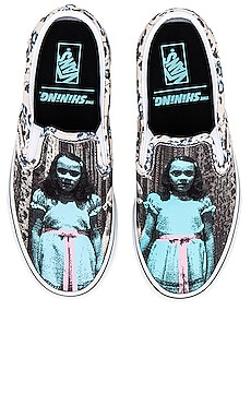 Terror Collection The Shining Classic Slip On Vans $65