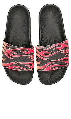 Slide On Flame Vans $35