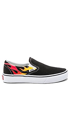 Classic Slip On Flames