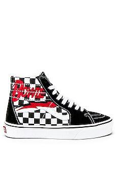 x Bowie Logo Sk8-Hi Sneaker Vans $80 NEW ARRIVAL