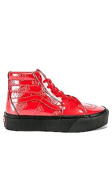x Bowie Sk8-Hi Platform 2.0 Sneaker Vans $85