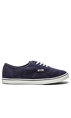 Vans Authentic Low Pro Sneaker in Eclipse & True White