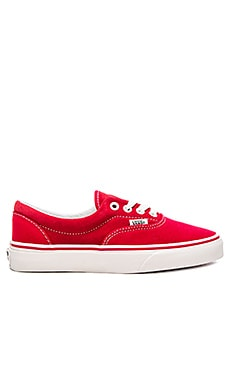 Vans Era Sneaker in Racing Red