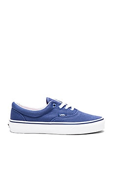 Vans Shiny Eyelets Era Sneaker in Twilight Blue