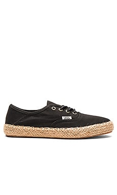 Authentic Espadrille in Black
