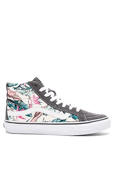 Tropical Sk8-Hi Slim Sneaker en Multi & True White