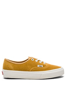 Vans Authentic Sneaker in Amber Gold