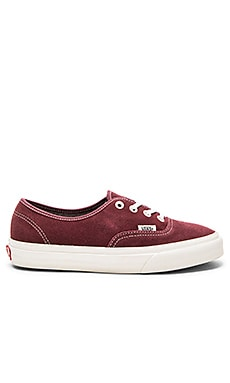 Authentic Sneaker in Red Mahogany