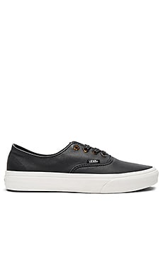 Authentic Decon Sneaker in Black & Blanc De Blanc