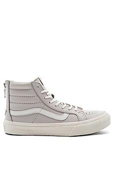 SK8-Hi Slim Zip Sneaker in Chime & Blanc De Blanc