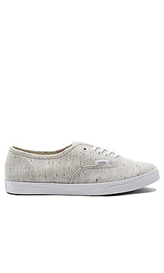Authentic Lo Pro Sneaker in Gray & True White
