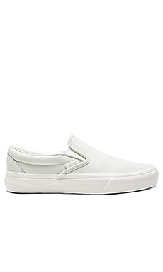 Classic Slip-On Sneaker in Blue & Blanc De Blanc
