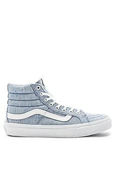 SKi-Hi Slim Sneaker in Blue & True White