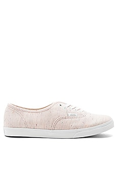 Authentic Lo Pro Sneaker in Pink & True White