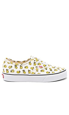 Peanuts Authentic Sneaker in Woodstock & Bone