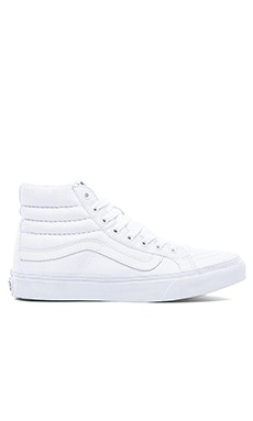 SK8-Hi Slim Sneaker in True White