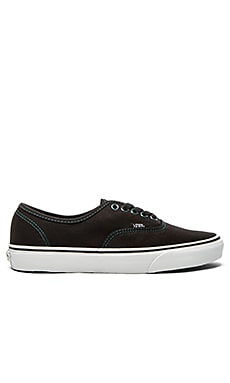 Vans Authentic Iridescent Eyelets Sneaker in Black & Multi
