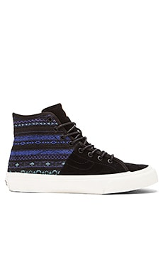 Vans SK8-Hi Italian Decon Sneaker in Blue & Black