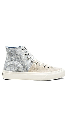 Sk8 Hi Stripes Decon Sneaker in Washed & Moonstruck