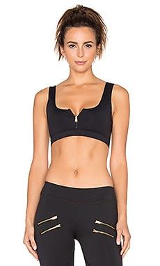 Varley Beth Crop Sports Bra in Black