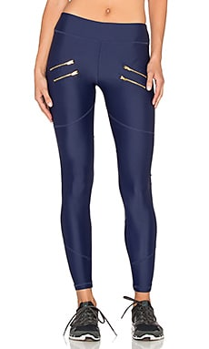 Varley Sofia Compression Tight in Navy