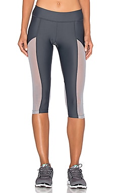 Varley Vincent Tight Crop Legging in Cement