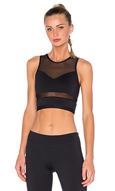 Veron Crop in Black