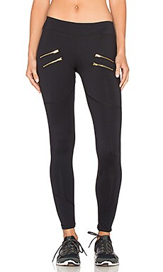 Varley Sofia Compression Tight en Noir