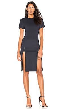 Платье с разрезом на молнии - VATANIKA