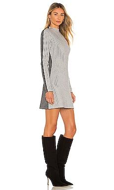 Patchwork Dress Victor Glemaud $450
