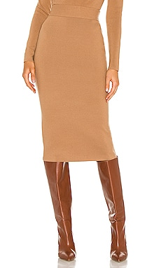 X REVOLVE Colorblock Skirt Victor Glemaud $425 NEW