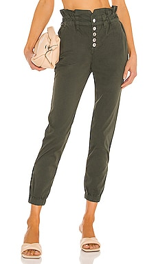 Tedi Elastic Waist Pant Veronica Beard $298 Collections
