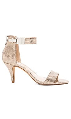 Vince Camuto Magner Heel in Metallic Taupe