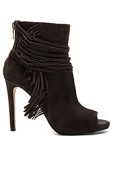 Vince Camuto Ferdinand Heeled Bootie in Charcoal Grey