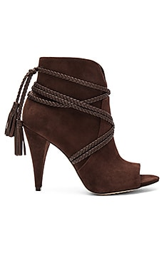 Vince Camuto Astan Booties in Coffee Grind